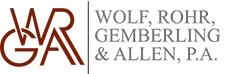 WOLF, ROHR, GEMBERLING & ALLEN, P.A.